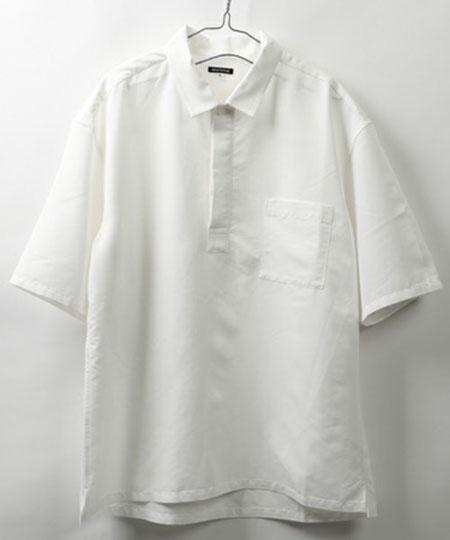RTビッグシルエット スキッパープルオーバー ショートスリーブシャツ