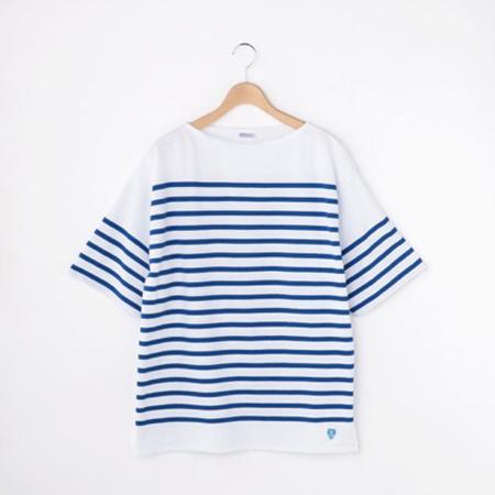 ORCIVAL/ラッセル フレンチセーラー半袖Tシャツ
