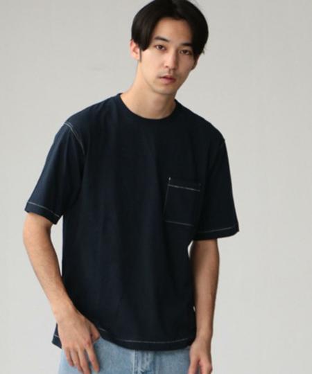 SC コットンシルクネップ クルーネックTシャツ