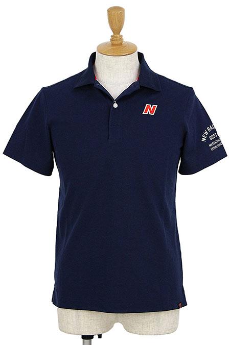 New Balance/METRO 鹿の子 半袖ポロシャツ