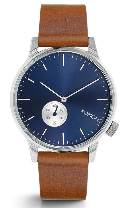 WINSTON SUBS BLUE COGNAC - 41mm
