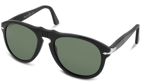 Persol/Black Acetate Sunglasses
