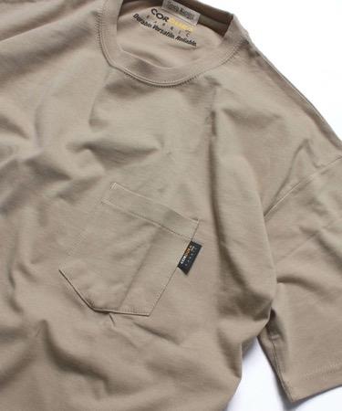 NAVAL/コーデュラナイロン無地半袖Tシャツ