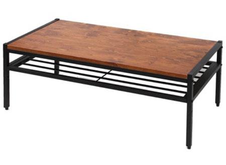 タンスのゲン 天然木テーブル