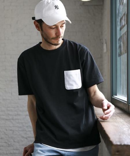 ドライコンビPKTクルー Tシャツ<機能性生地> 吸水速乾
