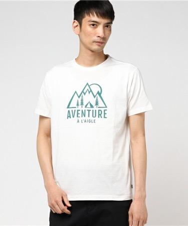 AIGLE/吸水速乾コーデュラーマウンテンTシャツ