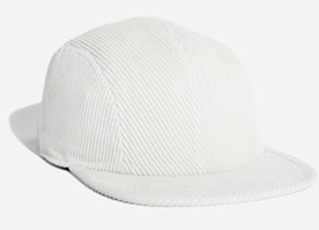 Russel Cord Hat Ivory