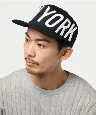 Big NY Hat Black