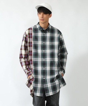 DISCOVERED/BOX LONG SHIRT