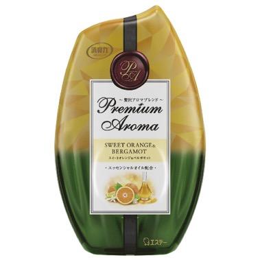 お部屋の消臭力 Premium Aroma スイートオレンジ&ベルガモットの香り