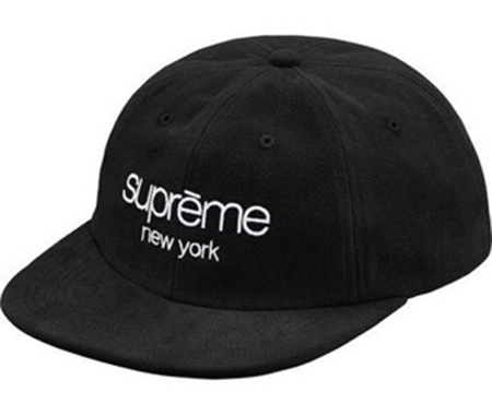 1week SS18 Supreme Classic Logo 6 Panel