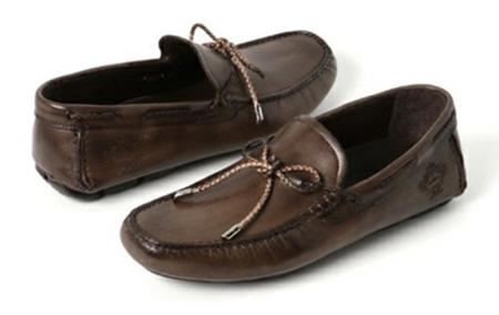 ドライビングシューズ(革靴)
