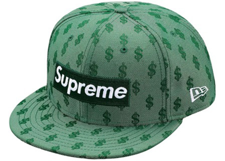 SUPREME New Era SS18 Week10 Monogram Box Logo $