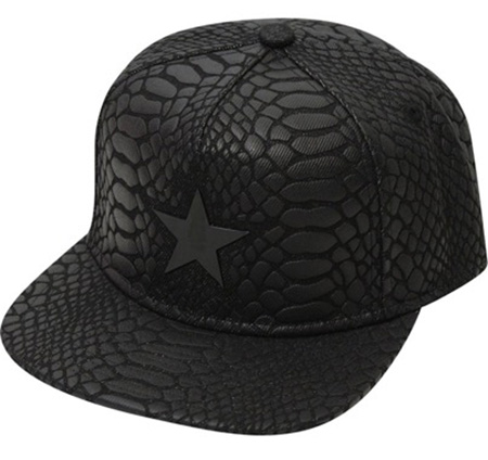 Gavin Flat Brim Baseball Cap