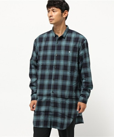 GDC/LONG LAYERED SHIRT