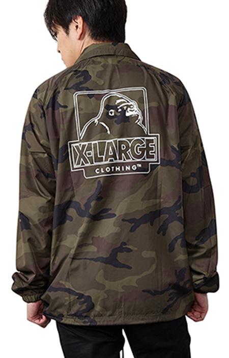 X-LARGE コーチジャケット