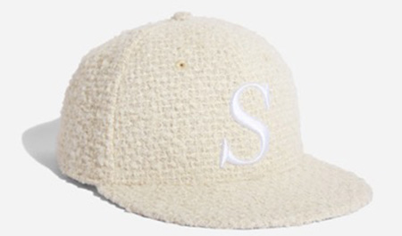 Rich S Snap Hat Ivory