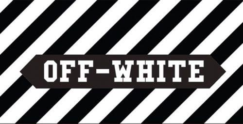 OFF WHITE ロゴ