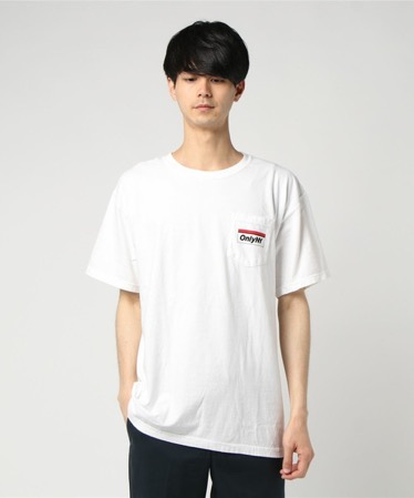 Subway Logo Tee 白