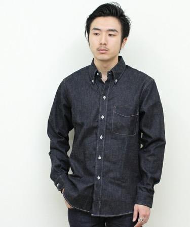 BONCOURA/デニムBDシャツ