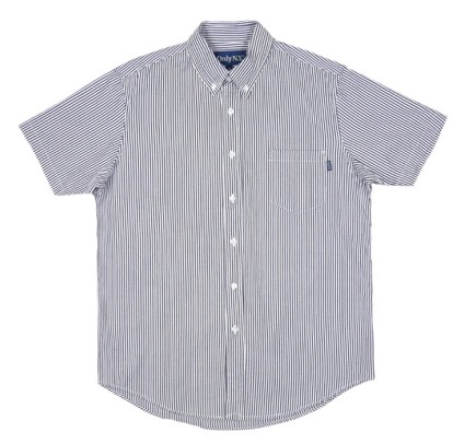 Blue Point Short Sleeve Shirt ブルー