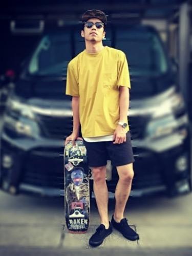 スケーターファッション