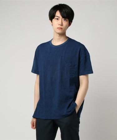 Sanca/別注インディゴピケTシャツ