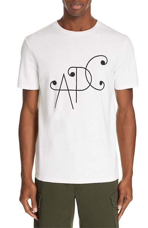 A.P.C. (アーぺーセー) ロゴTシャツ