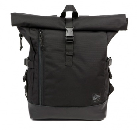 TRI HOLD ROLL PACK BLACK -CITY LINE-