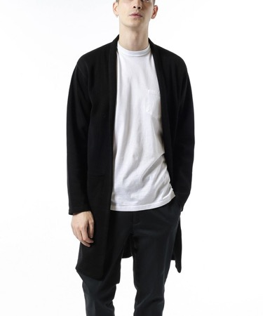 SOPHNET. /LONG KNIT CARDIGAN