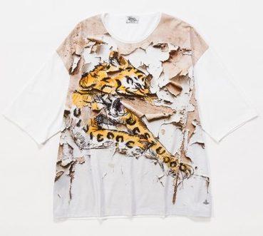 Vivienne Westwood MAN/タイガーウォール ビッグTシャツ