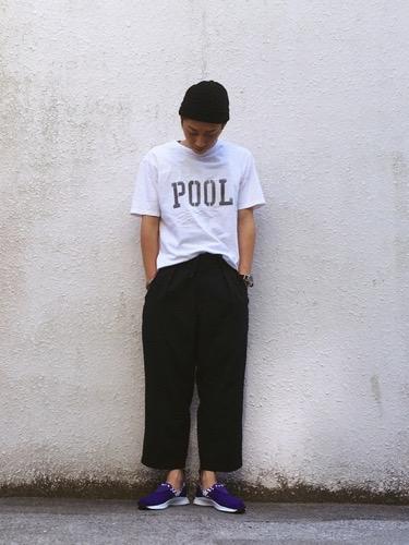 pool コーデ