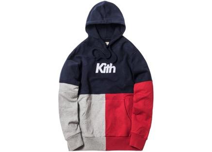 Kith Paisley Tri-Block パーカー