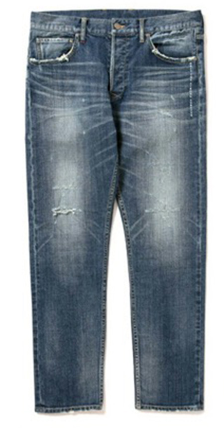 'Kate' Slim Stretch Denim Pants(Damage)