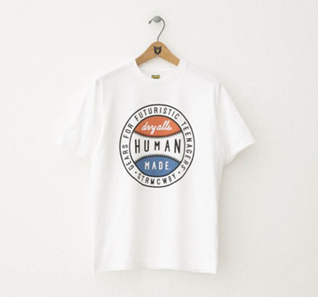 トリコロールボールTシャツ