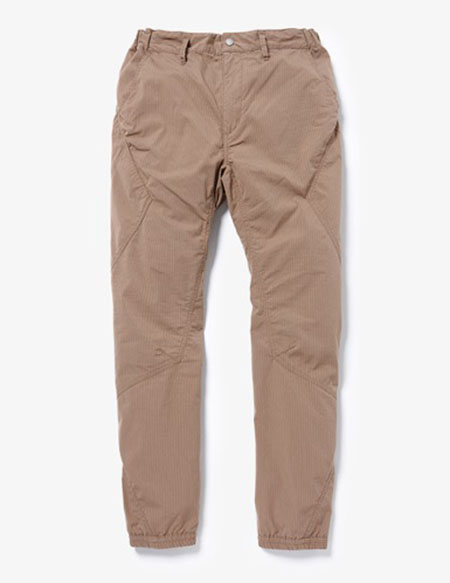 CYCLIST EASY RIB PANTS TAPERED FIT C/P RIPSTOP STRETCH COOL MAX