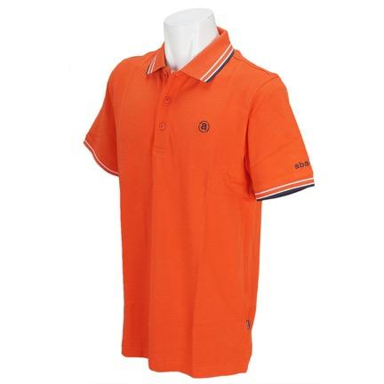 半袖ポロシャツ オレンジ