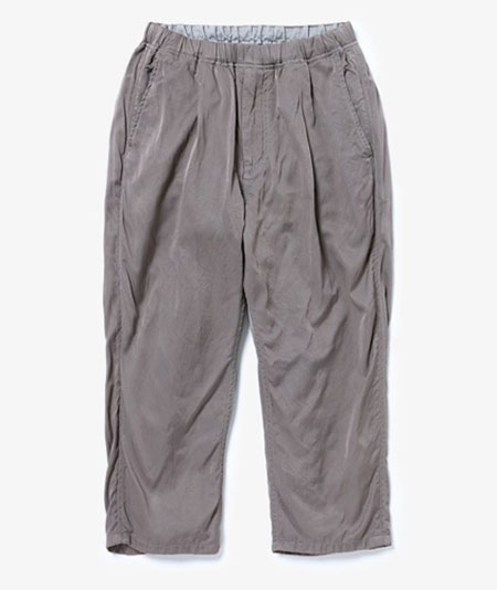 MANAGER EASY SHIN CUT PANTS RELAX FIT R/C TWILL