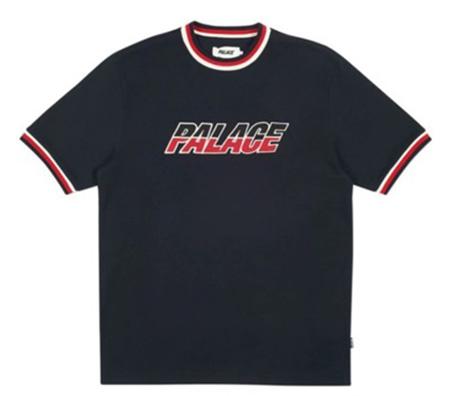 Palace Split Handle T-Shirt Navy パレス Tシャツ