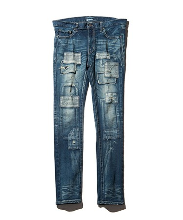 Unplugged skinny denim