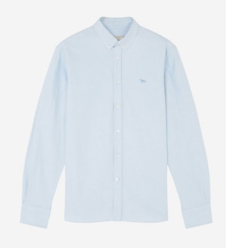 OXFORD FOX EMBROIDERY CLASSIC SHIRT