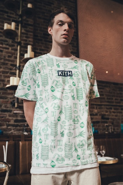 Kith x Sadelle's SS All-Over Print Tee