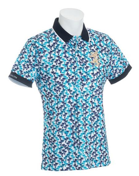 マイクロヤシノキ ポロシャツ
