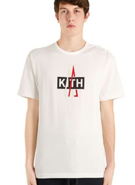 KITH X MONCLER コラボレーションロゴ Tシャツ