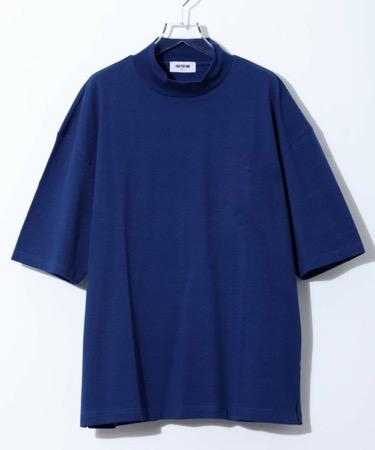 別注ビッグシルエットモックネックTシャツ