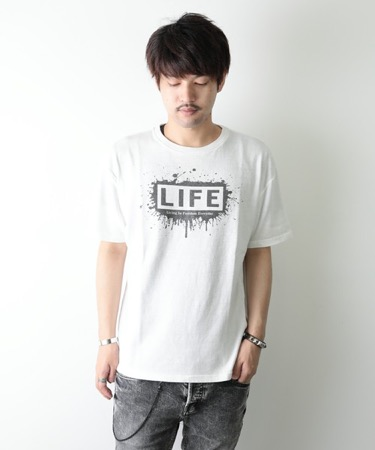 GRANDCOT×製品染め TEE LIFE