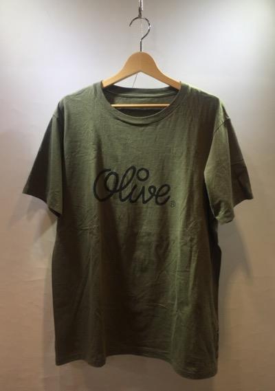 ロゴTシャツ オリーブ