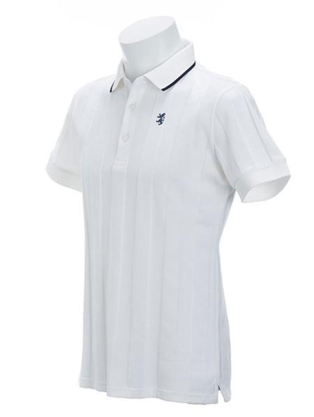 リンクスストライプ ポロシャツ