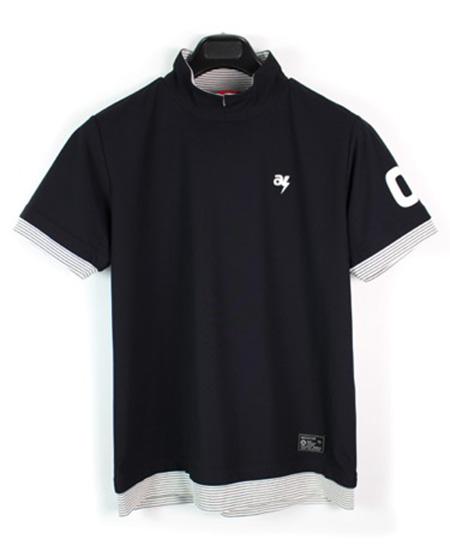 ハイネックスキッパーシャツ 黒