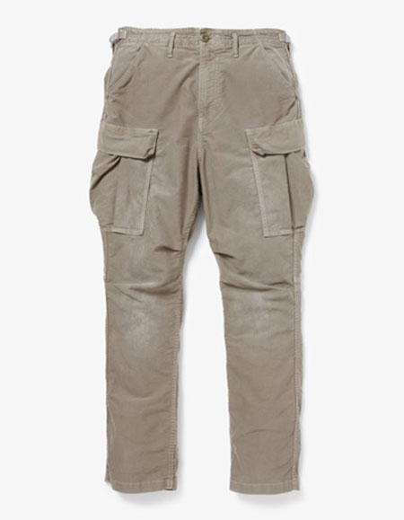 TROOPER TROUSERS RELAX FIT C/P MOLESKIN STRETCH OVERDYED